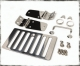 BLACK CHROME TJ HOOD KIT